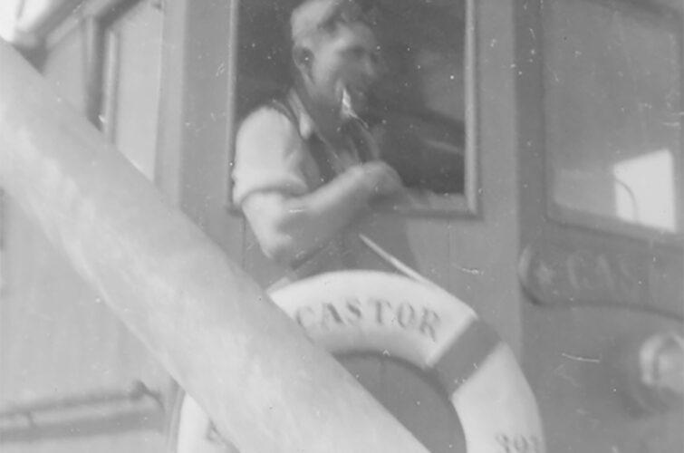 Skipper fra styrhuset