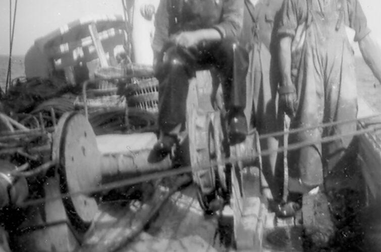 Tre sømænd på Castor