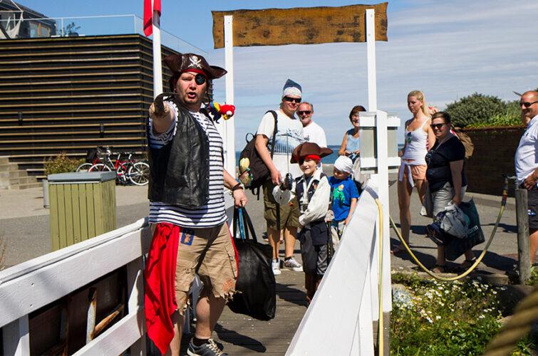 Piraten viser vej til Castor