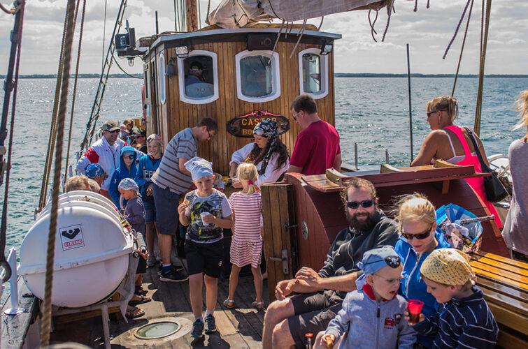 Pirat og sørøvere på Castor