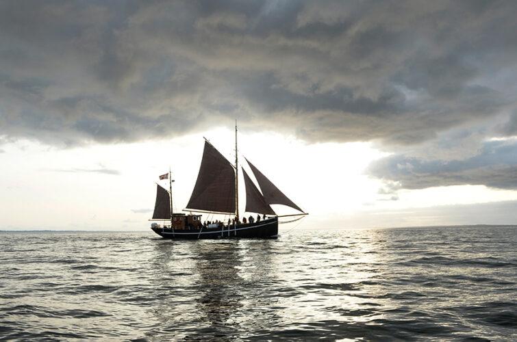 Fantastiske omgivelser på havet / © Bent Nygaard Larsen